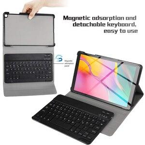 Image 4 - Funda para tablet con teclado Bluetooth para Samsung Galaxy Tab A 10,1 2019 SM T510 SM T515 T510 T515 teclado bluetooth español teclado inalambrico español