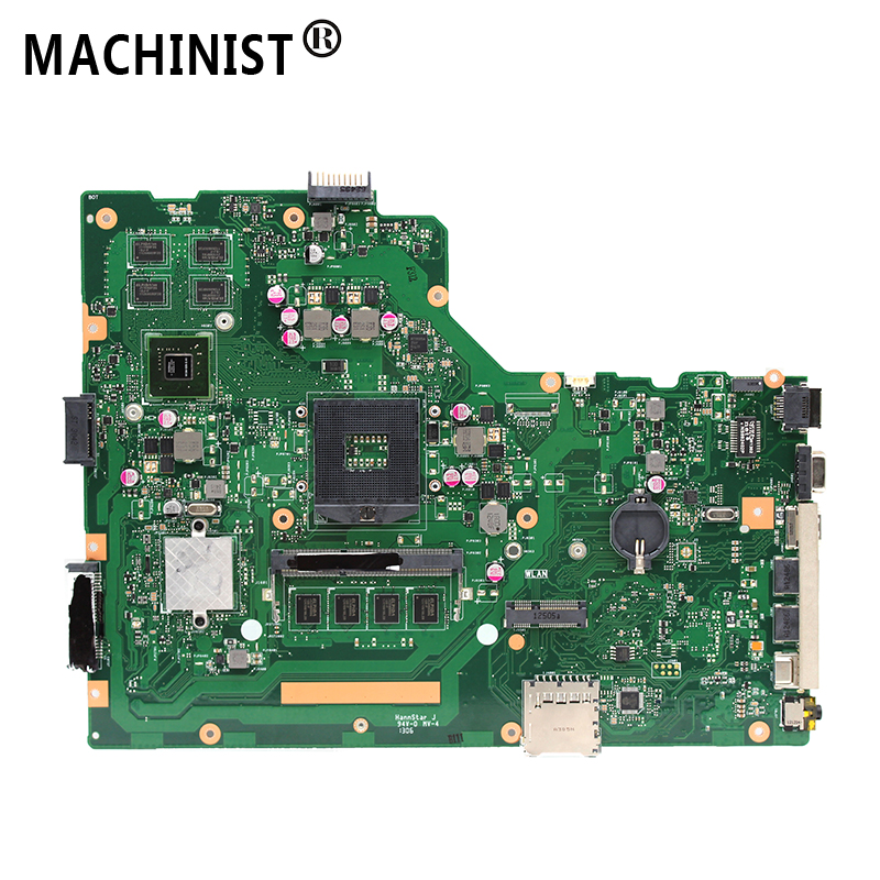 Original For ASUS X75V X75VC X75VB X75VD R704V REV 2.0 laptop motherboard GT610M 1GB 4GB <font><b>RAM</b></font> PGA989 <font><b>DDR3</b></font> 100% fully Tested image
