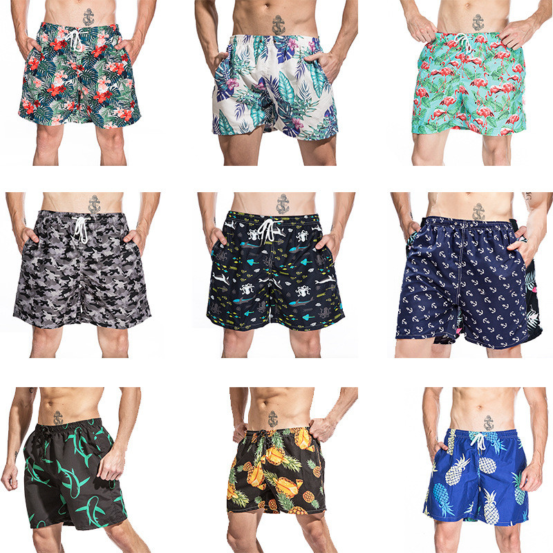 Swimwear Swim Shorts Trunks Beach Board Swimming Short Surfing Swimsuits Men's Funny Swim Trunks Quick Dry Cool Beach Shorts