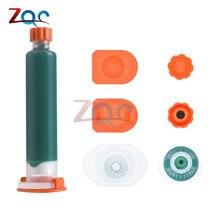 Mascarilla de soldadura BGA, 10cc, UV, para reparación de pintura, resistente a la soldadura, curado, Verde