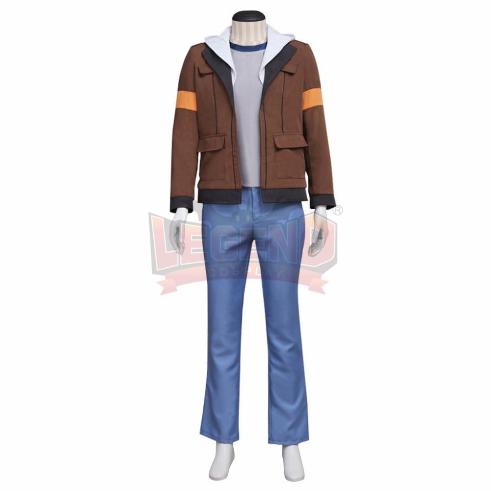 Voltron:Legendary Defender Lance Cosplay Costume Suit All Size brown full set custom made halloween men costume