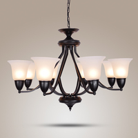Modern Chandelier Lighting Lamp Chandeliers Hanging Lights Clear Glass Chandelier LED Light For Home Restaurant