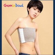 Geminbowl эластичная лента нагрудная скоросшиватель бюстье грудной корсет тонкая широкая плоская жилетка для женщин Les