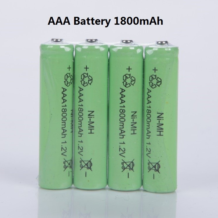 10PCS <font><b>Ni</b></font>-<font><b>MH</b></font> <font><b>1.2V</b></font> <font><b>AAA</b></font> <font><b>Rechargeable</b></font> <font><b>1800mAh</b></font> 3A Neutral <font><b>Battery</b></font> <font><b>Rechargeable</b></font> <font><b>battery</b></font> image