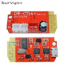 DC 3.7V 5V 3W Digital Audio Amplifier Board Double Dual Plate Bluetooth Speaker Modification Sound Music Module Micro USB DIY