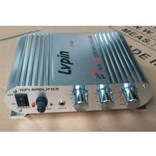 Mini HiFi Astilla 12 V 200 W CD MP3 Radio Del Coche Auto Barco de Motor Home Audio Estéreo AMPLIFICADOR de Altavoces Bass BOOSTRER Verstarker vehículo