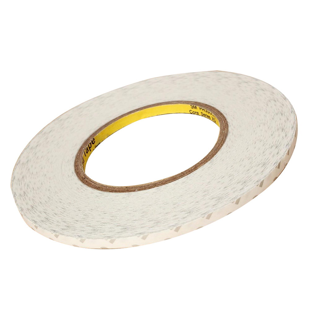10 x 2MM 50M Double Sided Adhesive Tape Sticker For Touch Screen LCD Cellphone 50 meters roll 0 2mm thick 2mm 50mm choose super strong adhesive double sided sticky tape for cellphone tablet case screen
