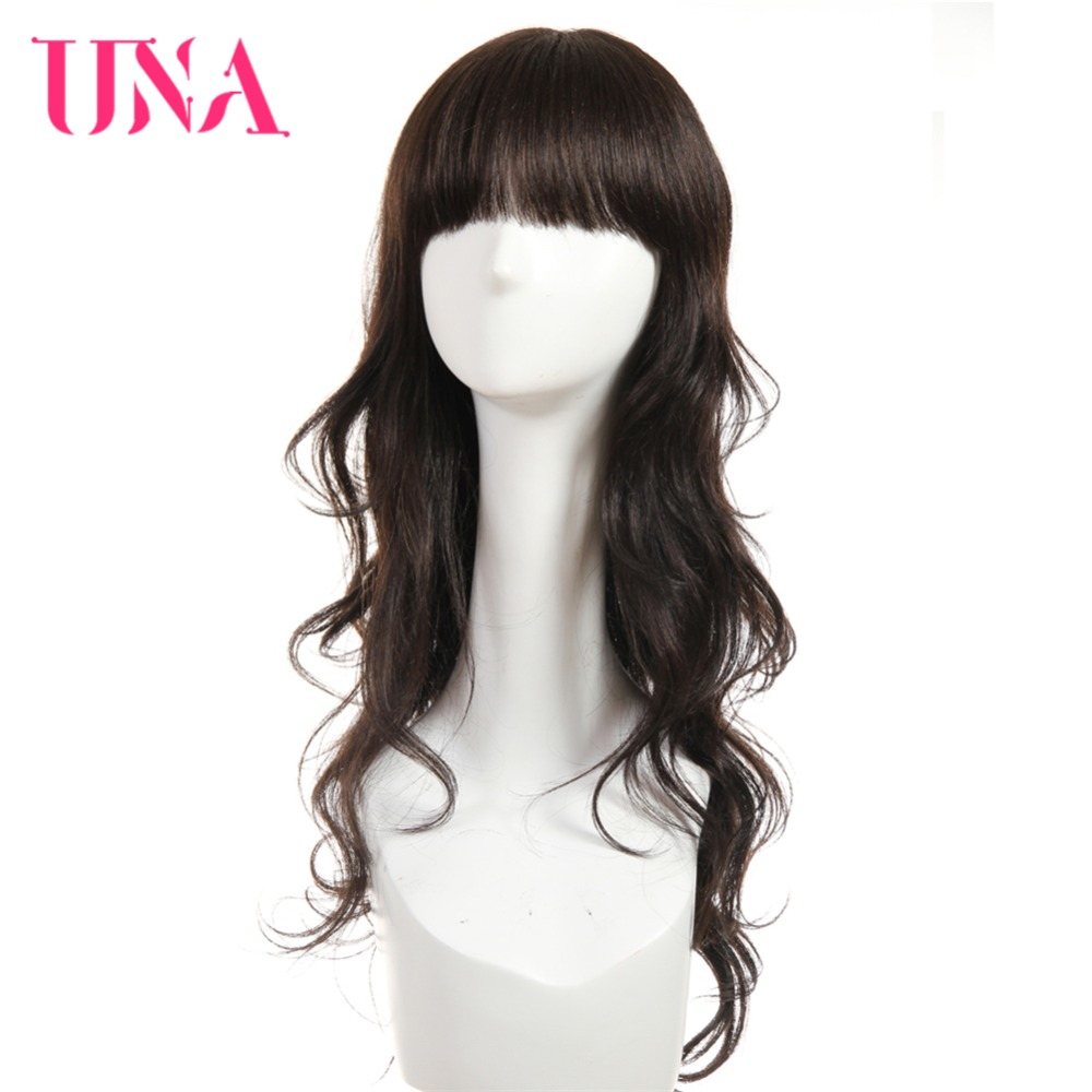 UNA Brazilian Human Hair Wig Loose Wave Wig 20