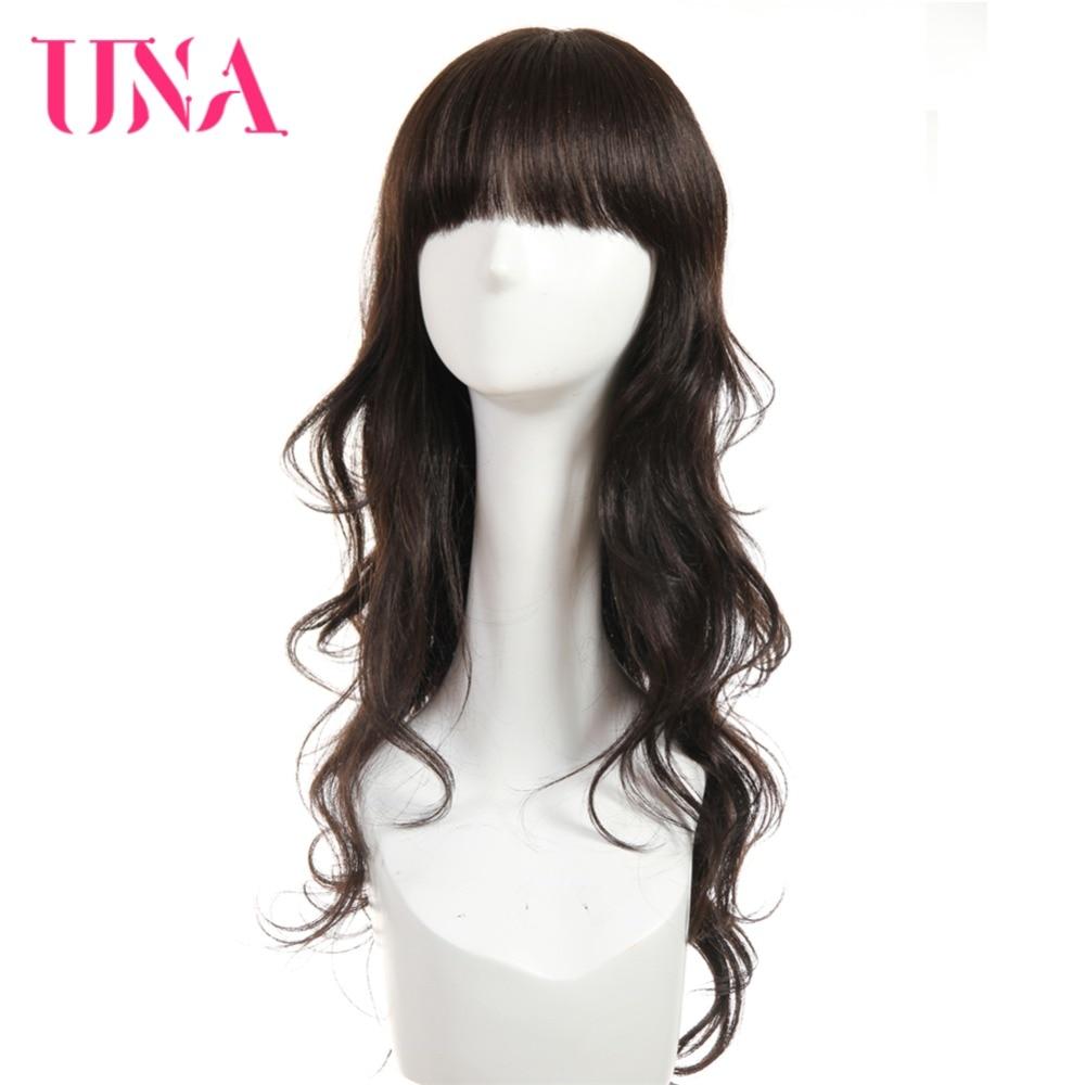 UNA Brazilian Human Hair Wig Loose Wave Wig 20