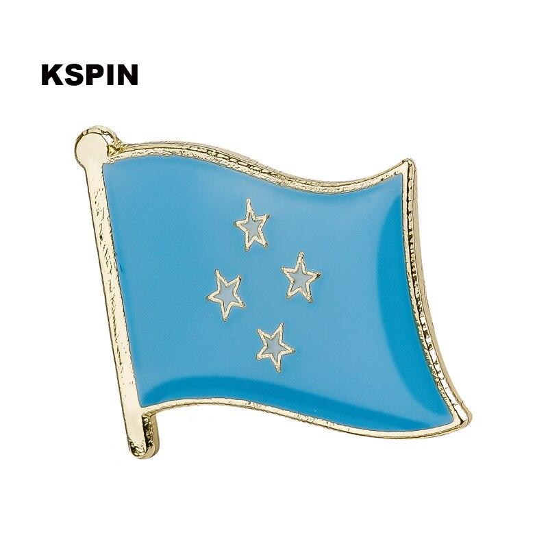 Haus & Garten Mikronesien Hand Stick Tuch Fahnen Sicherheit Ball Top Hand Nationalen Flaggen 14*21 Cm 10 Stücke Viel Ks-0125