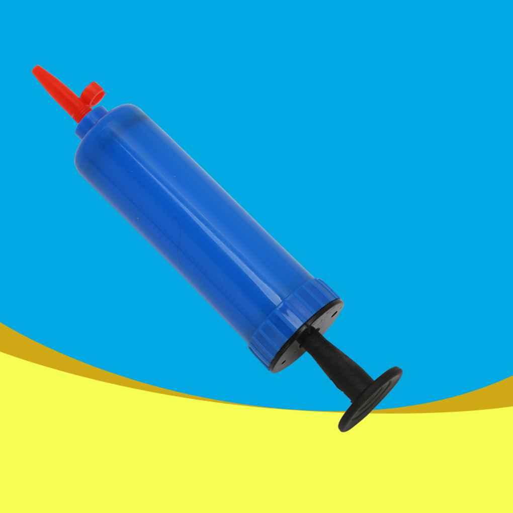 1pcs Mini Plastic Hand Hold Party Balloon Inflator Ball Air Pump For Football Basketball