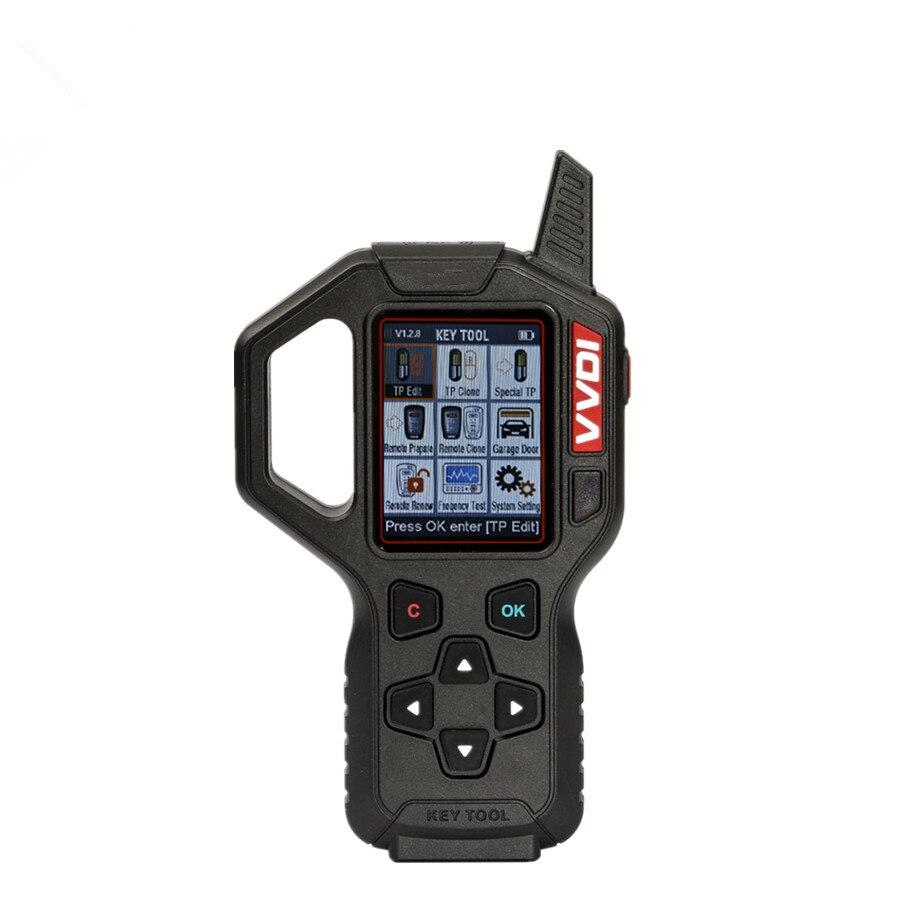 Outil clé Portable VVDI programmeur clé à distance Version européenne outil clé transpondeur automatique générateur de clé programmeur outils de Diagnostic