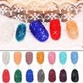 Nueva Llegada Aproximadamente 1400 unids/bolsa 1.1mm Muchos Colores Circón Rhinestones Micro Diamantes de Pegamento En Las Piedras DIY Mini Nail Art decoraciones