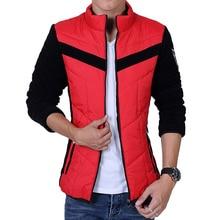 2017 New Fashion Warm Outwear Winter Jacket Slim Men Jacket Warm Men 3 Colors Winter Jacket Parkas Size L-3Xl Winter Coat Men