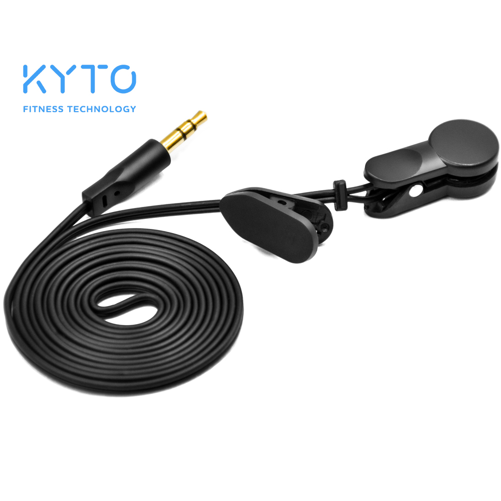 KYTO Ear Clip Heart Rate Sensor For Treadmill And HRV Monitor
