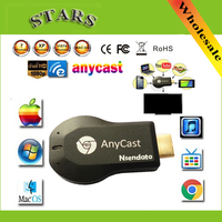 128 M Anycast m2 ezcast miracast Herhangi Cast AirPlay Crome Cast Cromecast ios için HDMI TV Çubuk Wifi Ekran Alıcı Dongle andriod