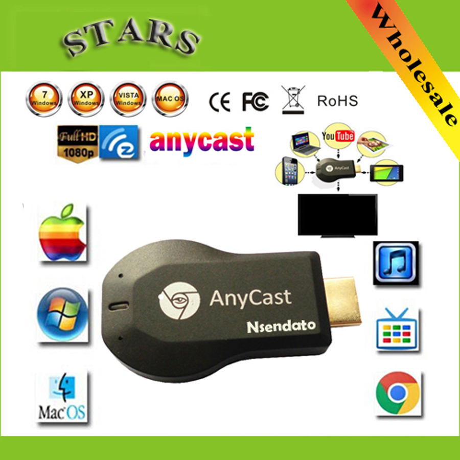 128 M Anycast m2 ezcast miracast Qualsiasi Cast AirPlay Crome Cast Cromecast HDMI TV Stick Wifi Display del Ricevitore Dongle per ios andriod
