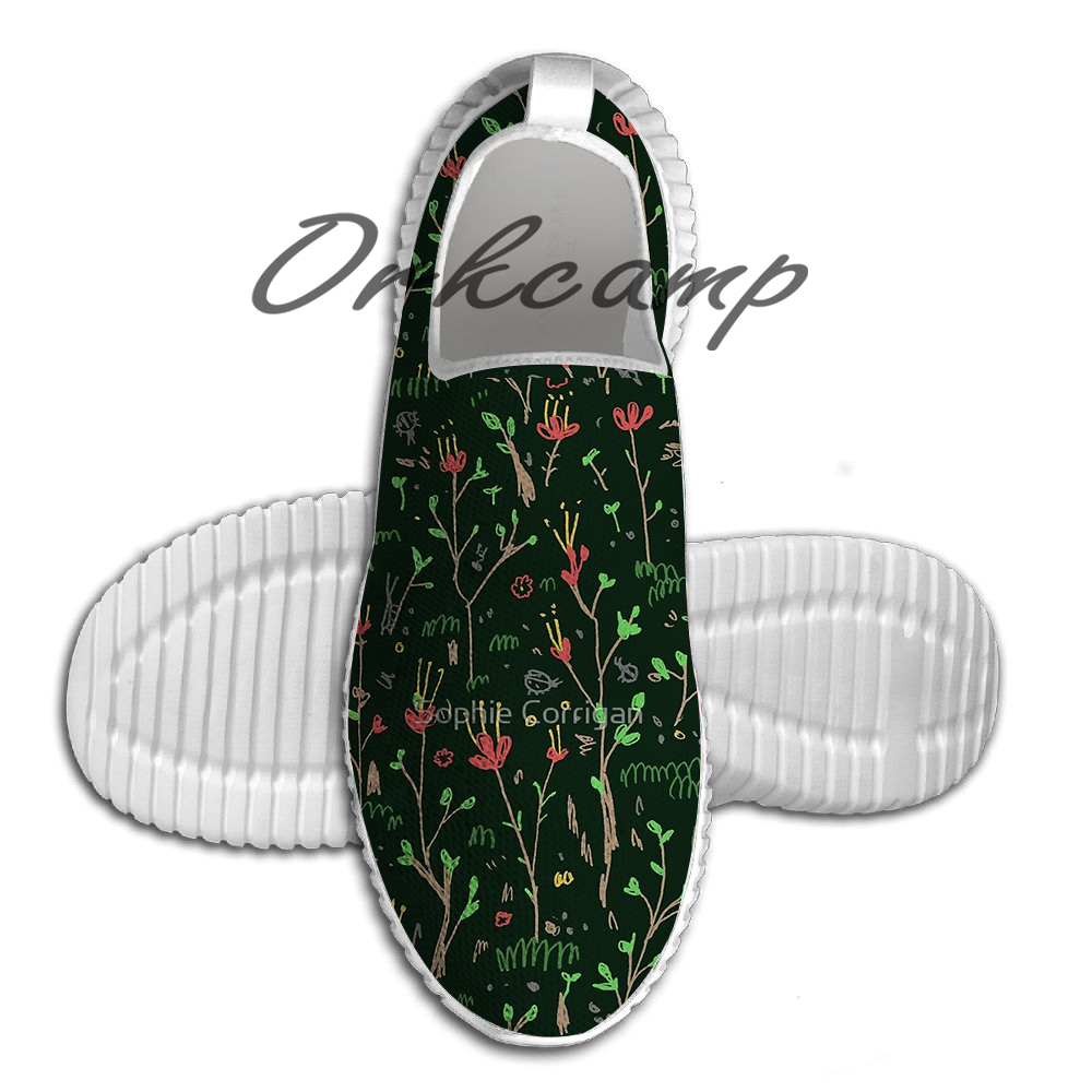 Sport Running Shoes Woodland Floor Light Weight Walking