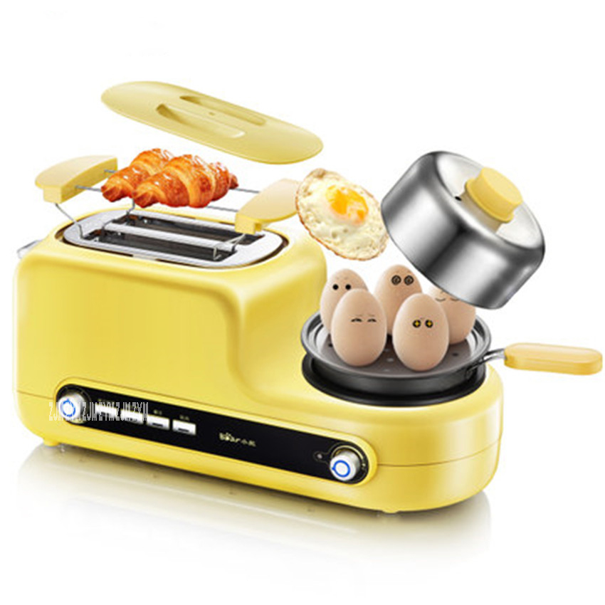 DSL-A02Z1 Non-stick Baked Electric MultiFunctional Automatic Breakfast Toaster Machine Bread Toaster Fried Egg Steamed Egg 220V 12l electric automatic spain churros machine fried bread stick making machines spanish snacks latin fruit maker