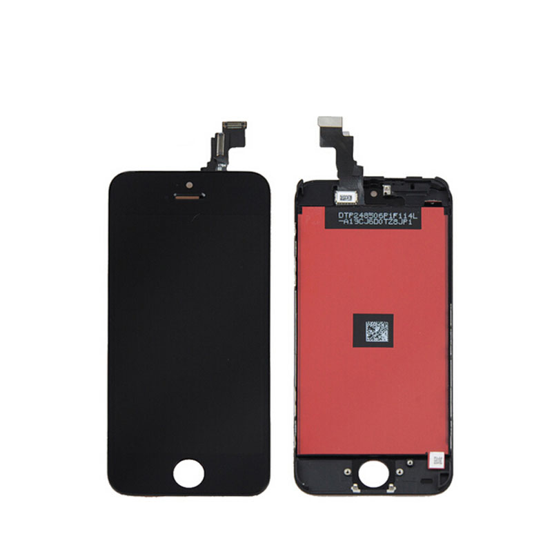 Onecell 100% Brand New Lcd with touch digitizer screen assembly For iPhone 5C LCD display with digitizer Frame Black White