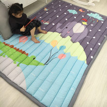 Infant Shining 140X195CM Baby Play Mats 2.5CM Thickening Cartoon Blanket Children Game Carpet Machine Washable Rugs(China)