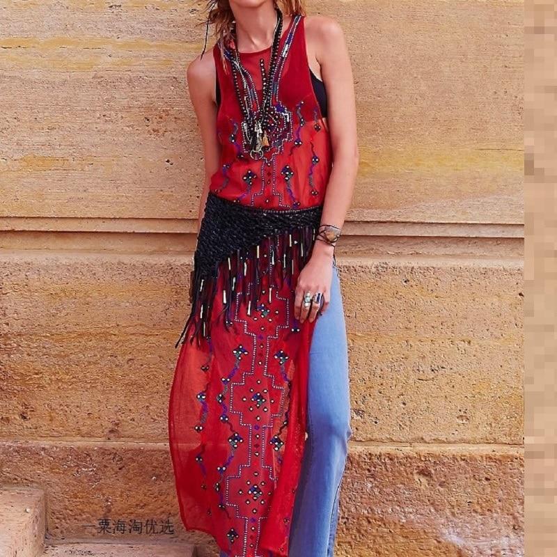 vintage boho dresses chic plus size for women floral dress long loose fit hippie womens beach