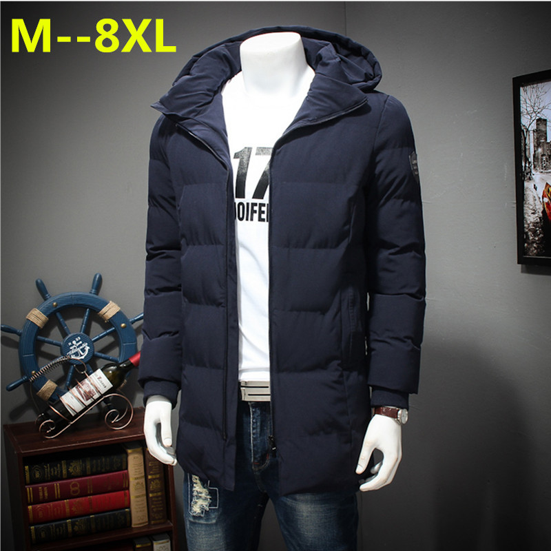 Plus size 10XL 8XL 6XL 5XL new thicken winter Jacket Parkas men brand clothing male cotton Fleece Warm winter down Parkas men 2015 new hot winter thicken warm woman down jacket coat parkas outerwear hooded splice mid long plus size 3xxxl luxury cold