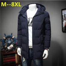 Plus size 10XL 8XL 6XL 5XL new thicken winter Jacket Parkas men brand clothing male cotton Fleece Warm winter down Parkas men