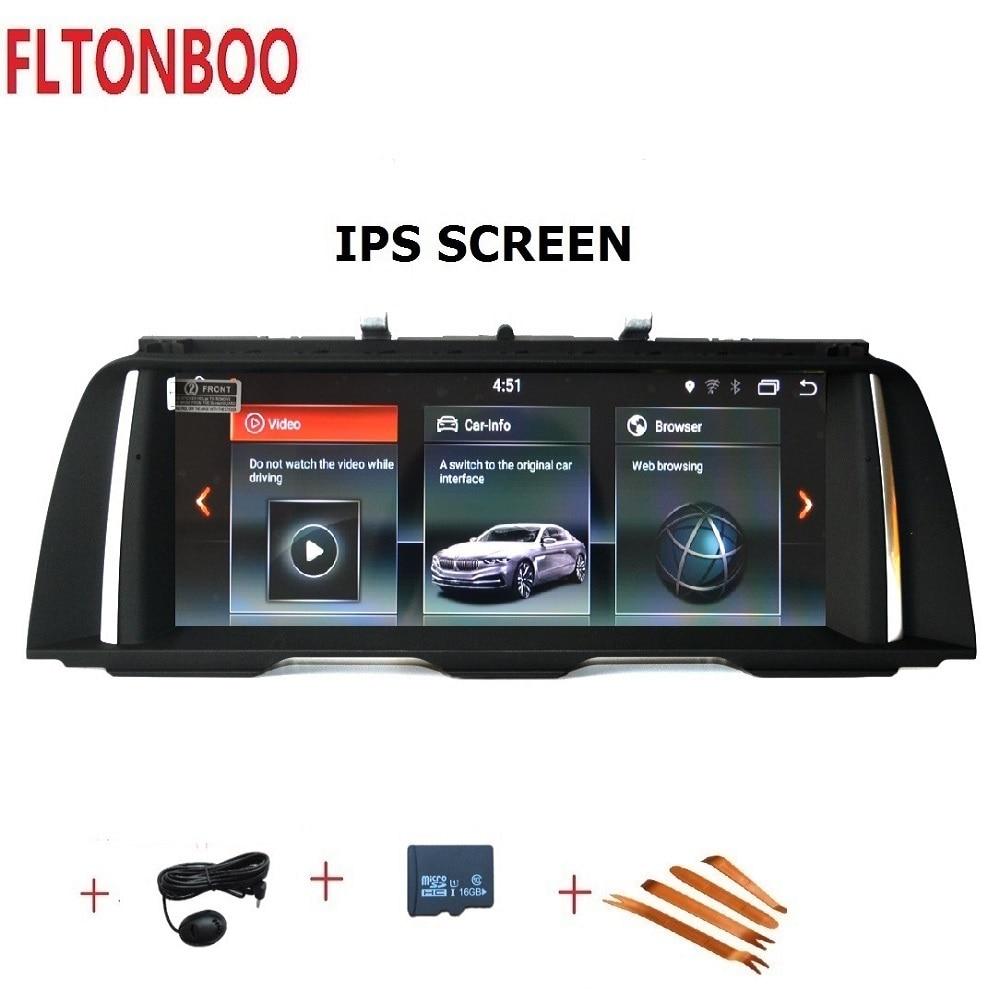 10.25 polegada de navegação Android 7.1 Carro radio Gps plyaer para BMW Série 5 F10 F11 Original CIC NBT 4 núcleo 32 2 GB de RAM GB ROM wifi