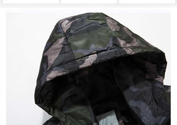 a673a39773e68 2019 2018 New Winter Men S Parkas Short Hooded Camouflage Coats Plus ...