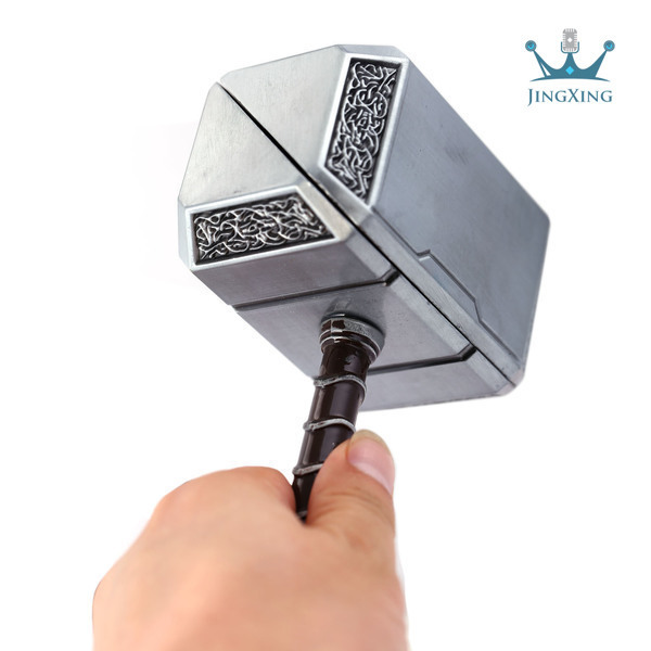 1 Pcs The Avenger Big Size Thor hammer Gold & Silver 2 Colors Key Chain  Women&Men hammer of thor  Key  Ring AD98-9