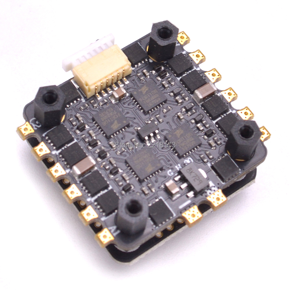 NOXE F4 Flight Controller Board MPU6000 Sensor & 25A 4 in 1 Built-in 5V 1A BEC ESC Support Dshot For FPV RC mini Drone Quad 20x20mm mini f4 flytower flight control integrated osd 4 in 1 esc built in 5v 1a bec support dshot for fpv rc drone