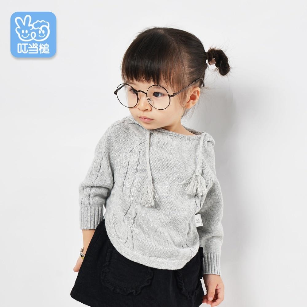 Dinstry meleg tavaszi ruházat kapucnis aranyos divat baba - Gyermekruházat - Fénykép 3