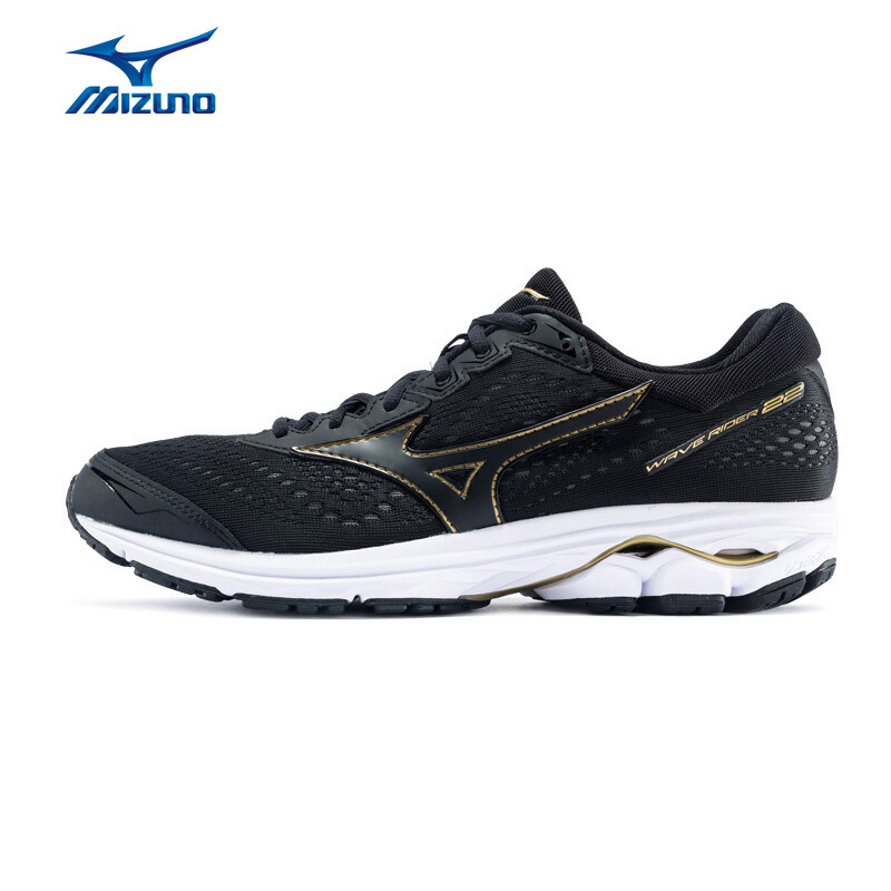 MIZUNO Men WAVE RIDER 22 Running Shoes Classic Version Sneakers Cushion Breathable Sports Shoes J1GC183109 XYP789 цена