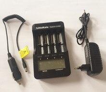 Liitokala lii-500 LCD 3.7 V/1.2 V AA/AAA 18650/26650/16340/14500/10440/18500 Cargador de Batería con pantalla + 12 V adaptador lii500 + coche