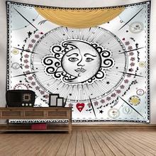 Totem Indian Tapestry Hippie Mandala Wall Hanging Bohemian Bedspread Dorm Decor Farmhouse Home