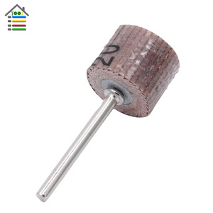 Image 2 - 10PC Mini Abrasive Tools Flap Wheel Sanding Sandpaper Grinding for Dremel Rotary Paper Polishing for Woodworking 80 600 Grit