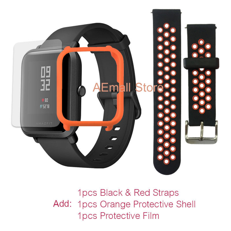 $57.99 = $59.99- $2 CUPÓN Versión inglesa Xiaomi reloj inteligente Amazfit Bip para hombre Hua mi Pace Smartwatch para IOS Android Monitor de ritmo cardíaco 45 días de batería - 5