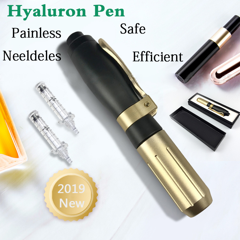 New Anti Wrinkle Aging Hyaluronic Pen Atomization Injection Anti Wrinkle Hyaluron Mesotherapy Gun Atomizer Beauty Syringe