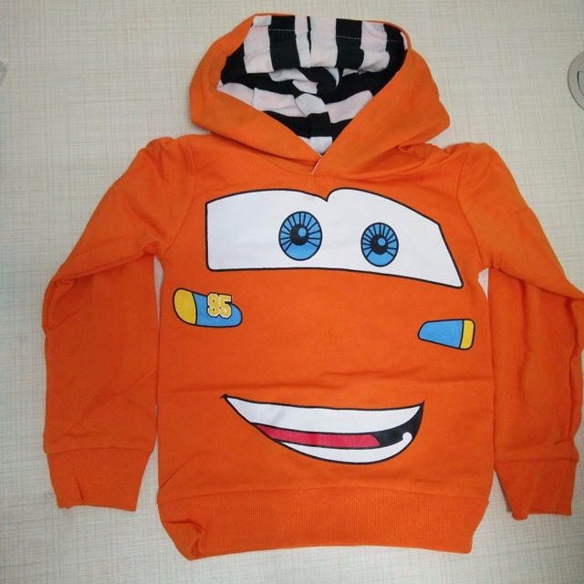Cheaper Fashion Boys Girls Cartoon Printed Spring Autumn Sport Hoodies T Shirt Outerwear cute Kids sweatshirt baby girl clothes  3