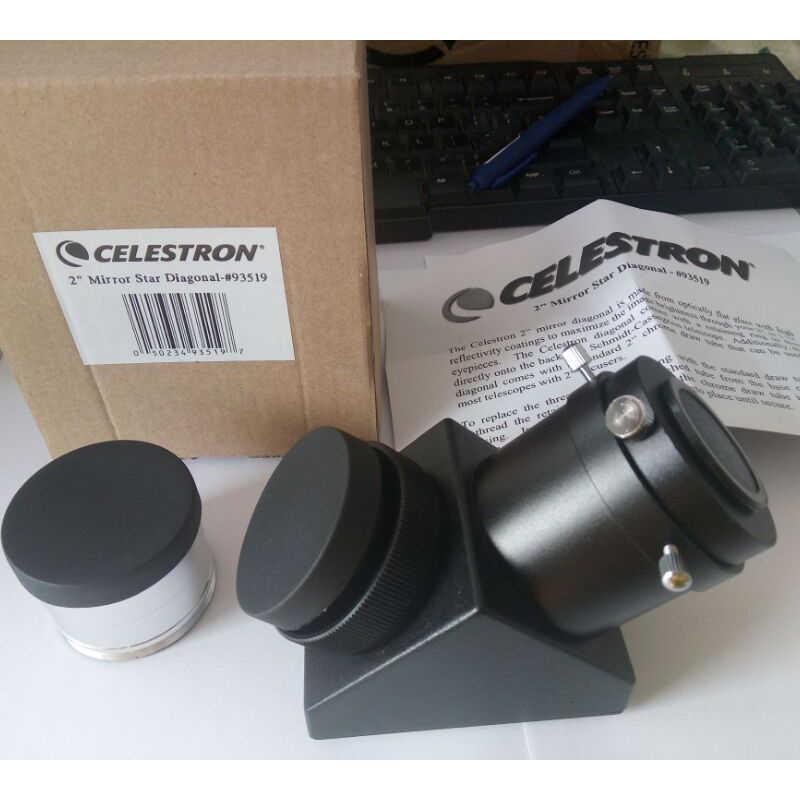Obsługi celestron 2 cal na polecenia przelewu sepa lustro przekątnej astronomicznych teleskop Adapter pryzmat okular teleskopu akcesoria C5/C6/C8/ 925/C11