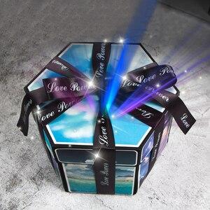 Image 3 - 11 Kleuren Verrassing Partij Liefde Explosie Doos Gift Explosie Voor Anniversary Scrapbook Diy Fotoalbum Verjaardag Christmas Gift