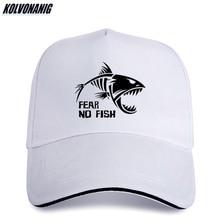 цена на Summer Sunshade Visors Sandwich Men's Cap Skeleton Fish-Bones Fear NO Fish Fishing Print Baseball Caps Cotton Adjustable Sun Hat