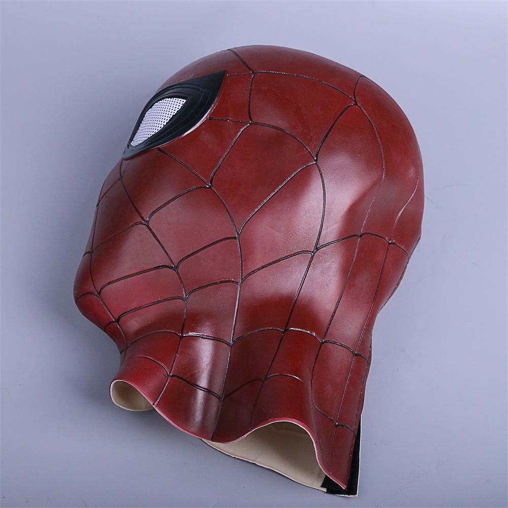 2018 Avengers 3 Infinity War Spiderman Mask Cosplay Iron Spiderman 3D Latex Mask (7)