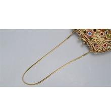 New Fashion Diamond Famous Designer SINOWEGO Women Evening Bag Vintage Female Clutch Handbag Shoulder Crossbody Small Bag