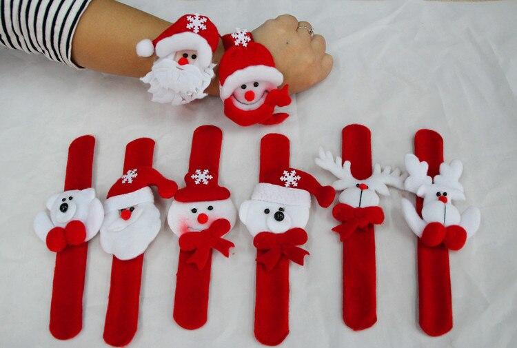Free Christmas Ideas Crafts Part - 22: ... New Arts And Crafts Ideas 600pcs Novelty Slap Bracelet Bangle Decor Pat  ...
