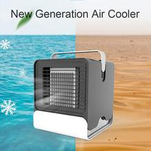 Portable Air Cooler Negative Ion Conditioner Mini USB Humidifier Purifier Desktop Cooling Fan Ventilator
