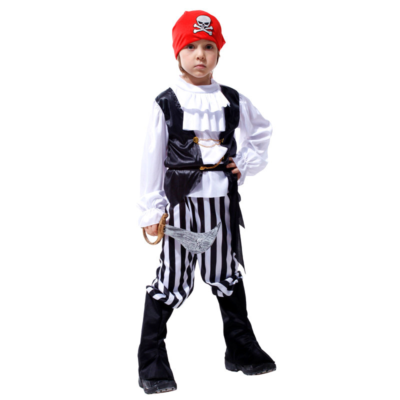 online shop kids movie boys pirates of the caribbean costume children christmas halloween jack sparrow sailor cosplay masquerade purim dress aliexpress - Halloween Jack Costume