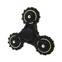 Linkage Gears EDC Hand Spiner Toy Fidget Tri Spinner Metal Finger Spinner Gyro For Autism ADHD