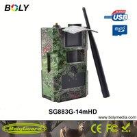 Bolyguard 14MP 720P HD Trail Camera 3G Wireless Home Security GSM Phone MMS GPRS Waterproof Anti